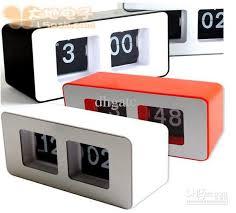 2018 novelty retro auto flip desk digital alarm clock fashion abs material automatic flip wall clock from dhgatc 232 02 dhgate com