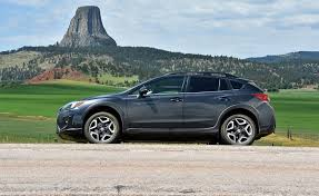 2018 subaru crosstrek. unique crosstrek the 2018 subaru crosstrek has a close encounter of the tourist kind at  devilu0027s tower in wyoming to subaru crosstrek