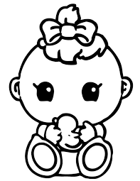 Small Picture Printable Coloring Pages Baby Coloring Pages