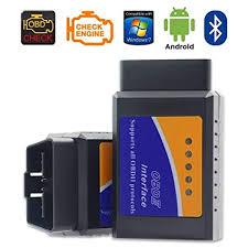 AutoPowerZ <b>Elm327 Bluetooth Obd Ii</b> Universal <b>Vehicle</b> Diagnostic ...