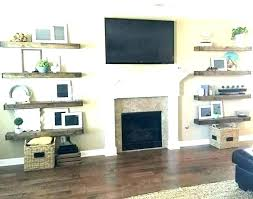 oak shelf above fireplace stone fireplace with shelves floating shelves for fireplace stone fireplace with shelves