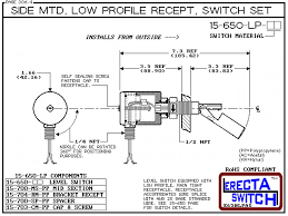 lp pp side mtd low profile recept level switch set compac diagram 15 650 lp pp side mtd low profile recept level switch