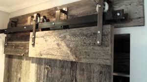 best rustic barn door hardware