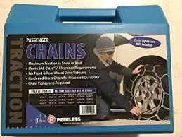 Amazon Com Peerless Passenger Tire Chains 1 Pair Pn
