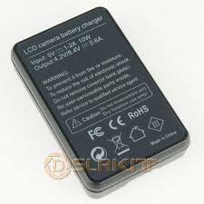<b>LP E10 USB</b> Battery Charger With <b>LCD Screen</b> Display For Canon ...