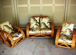 vintage bamboo patio furniture