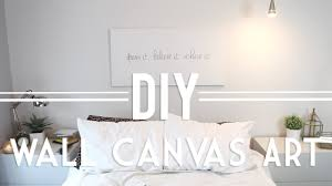 on wall art diy youtube with diy wall canvas art quote abstract youtube