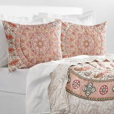 Screen Printing Designs For Bed Sheets Hand Screen Printed And Hand Quilted In Jaipur This
