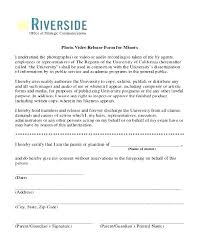 Video Consent Form Template Recording For Interview