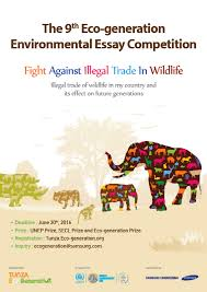 world the th eco generation environmental essay competition  the 9th essay poster