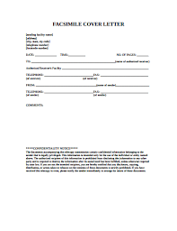 Generic Fax Cover Sheet Sample