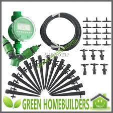 drip system for garden. DIY Micro Irrigation Drip System, Auto Garden Watering System For Flowers And Vegetables