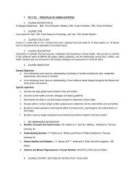 Human Nutritional Needs Chart Fst 1103 Principles Of Human Nutrition