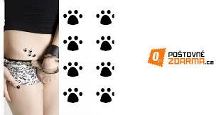 Dočasné Tetování Kočičí Tlapky 99 Kč