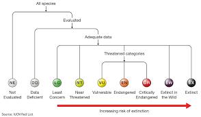 Iucn Red List Of Threatened Species Criteria Facts