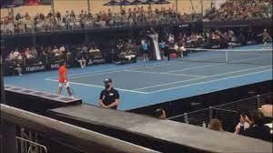 Novak Djokovic v Jannik Sinner – Court Level Tennis - YouTube
