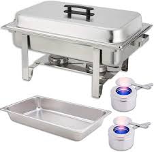 Latest Chafing Dishes Designs Amazon Com Chafing Dish Set Water Pan Food Pan 8 Qt