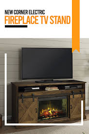 new corner electric fireplace tv stand