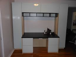 office wall unit. desk wall unit white glass office d