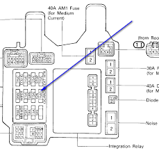 i need to replace the cigarette lighter in my 1994 es300 lexus or 1996 lexus es300 fuse box diagram Lexus Es300 Fuse Panel Diagram #40