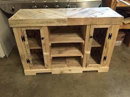 pallet dog bowl stand with storage pallet furniture ana white kitchen cabinet