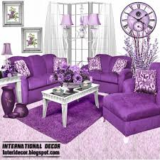 Purple Living Room Designs Purple Living Room Furniture Home Design Ideas