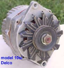 catalog the photo above shows a typical used model 10si delco remy built alternator