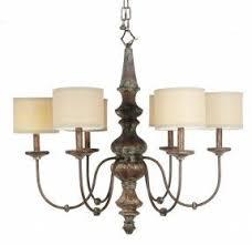 wooden chandelier lighting. mariana 900612 six light distressed wood drum shade chandelier wooden lighting n