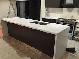 prefabricated carrara quartz benchtop