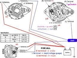 7 best alternator images on pinterest ford, ford ranger and jeeps alternator wiring diagram chevy at Battery Starter Alternator Wiring Diagram