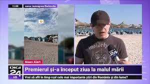 Premierul Cîțu, în Vama Veche: Ar fi bine ca sezonul estival să fie mai mare | Digi24