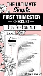 Morning Sickness Chart Youre Pregnant Learn The First Trimester Dos And Donts