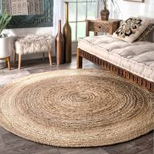 accessories captivating jute area rugs round shape casual style natural brown color indor area rug