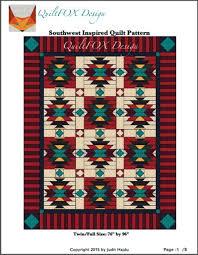 Quilt Patterns Southwest Designs Southwest Style Quilt Craftsy Southwest Quilts Quilts
