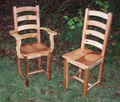 pine dining room sets. Perfect Dining Custom Made Arched Slat Yellow Pine Dining Room Chairs In Sets N