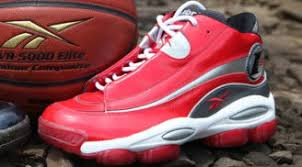 reebok answer 1. reebok answer i excellent red/white-pure silver 1 r