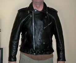 details about mint xelement xl leather motorcycle jacket with liner eagle head embossed