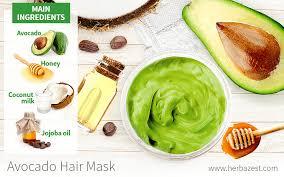 avocado hair mask herbazest