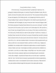 essays on young goodman brown young goodman brown essays analyzing  essay on essay essay writing us retail industry analysis essaywhy religion is bad essays symbolism and hawthorne s young goodman brown