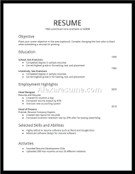 Sample Job Resume For College Student – Eukutak