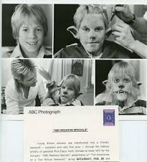 KNOWL JOHNSON RON FIGULY WEREWOLD IN MAKEUP ABC WEEKEND SPECIALS 85 ABC TV  PHOTO | eBay