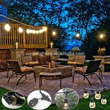 Edison Outdoor Patio Lights 48 Foot E26 E27 Outdoor Heavy Duty Medium Base Edison Outdoor String Lights Buy String Lights Outdoor String Lights Outdoor String Lights Product On