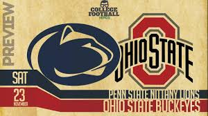 Ohio State Vs Penn State College Football Preview Predictions Buckeyes Vs Nittany Lions