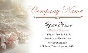 White Event Planning Business Card Design 2301131