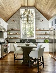 Vaulted Ceilings In The Kitchen Pros And Cons Plank And Pillow
