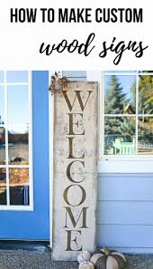 diy custom wood signs for your front porch spruce up your porch with this homemade