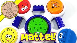 Mattel sesame street toys