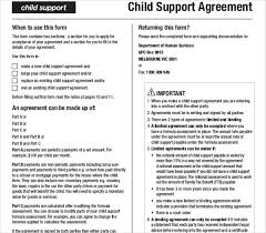Child Support Contract Templates Major Magdalene Project Org