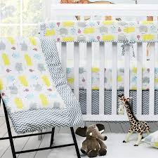crib bedding sets with per elephant
