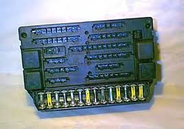 maserati enthusiasts page the problematic fusebox fitted to most biturbos